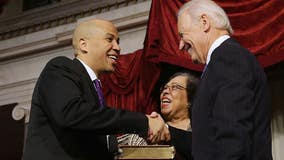 Booker endorses Biden, says he'll 'restore honor' to office