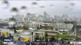 First rain falls in the Bay Area, with more to come