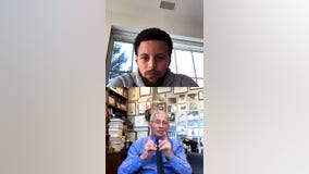 Steph Curry's Instagram Live with Dr. Fauci of the White House COVID-19 Task Force