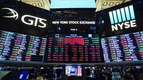 Stocks surge on new virus measures; Dow up 1,985 points