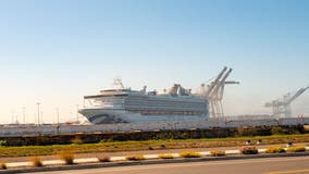 Three cruise ships without passengers will dock at the Port of Oakland
