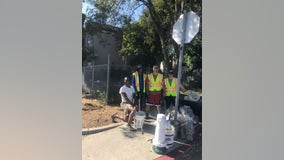 'Pandemic positives:' Oakland neighbors use coronavirus quarantine to spruce up block