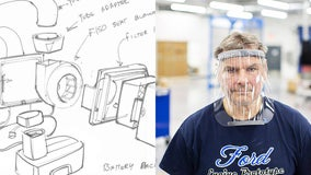 Ford using F-150 parts to design respirators for coronavirus fight