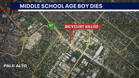 Boy riding bicycle killed in Palo Alto crash