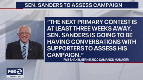 All eyes on Sanders campaign after another big night for Biden