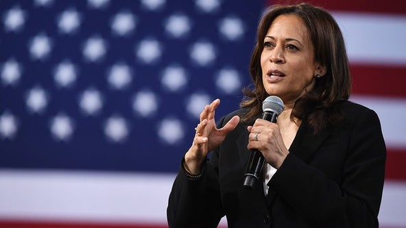 Trump gives credence to false, racist Harris conspiracy