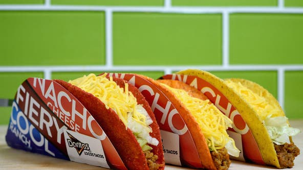 Taco Bell giving away free 'Doritos Locos' tacos to promote COVID-19 safety across America