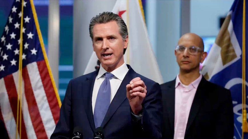 Newsom launches hotline for California seniors to stay connected amid COVID-19
