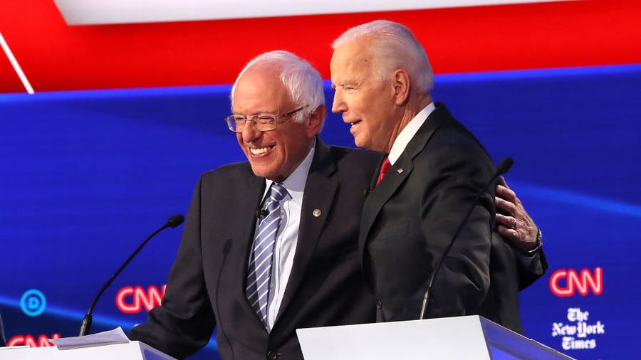 Sanders wins top prize, California; Biden surges nationwide