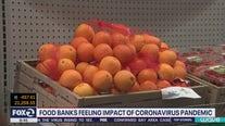 Food banks feel affects of coronavirus