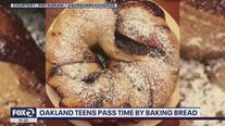 Oakland teens bake during coronavirus