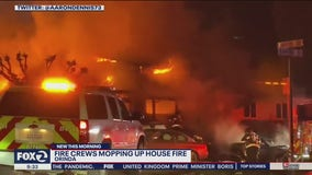 Overnight fire damages Orinda house