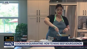 Cooking in quarantine: Beef Bourguignon
