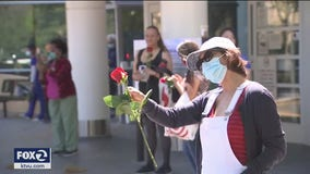 Appreciation event for Martinez health care workers