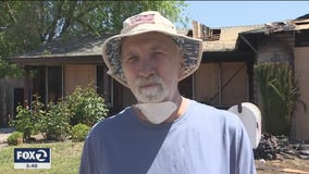 Community rallies to help 71-year-old veteran who lost his home in a fire