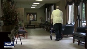 Families with loved ones inside nursing homes during pandemic cope with anxiety