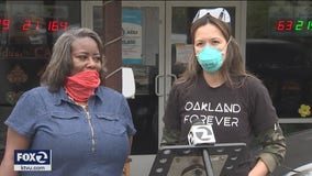 Oakland café closed for coronavirus reopens to manufacture and distribute masks