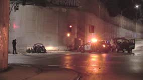 Two killed in overnight Oakland crash