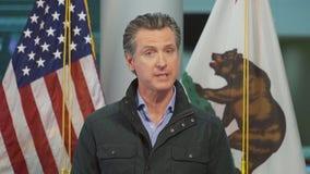 Gov. Gavin Newsom updates the coronavirus pandemic in the state of California