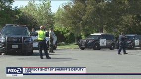 Robbery suspect fatally shot by Napa County sheriff's deputy