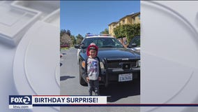 Officers give Sunnyvale 5-year-old birthday to remember