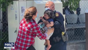 Deputy who evacuated fire victims says he's not hero