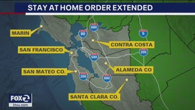 6 Bay Area counties extend stay at home orders through May
