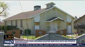 Sheriff cites California pastor for 'hiding' congregants on Easter Sunday