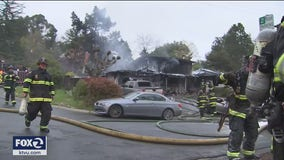 Explosions heard in early morning Orinda house fire