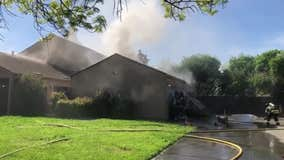 Santa Rosa home damaged after car catches fire in garage