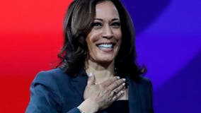 President Trump launches attacks against Kamala Harris