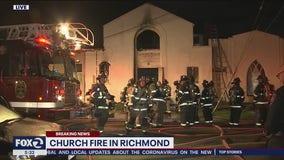Richmond church burns in predawn fire