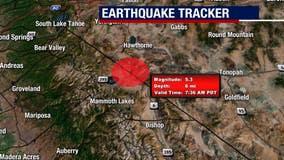 5.2 magnitude earthquake strikes near California-Nevada border