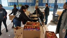 Hard-hit East Oakland school gets special meals delivered