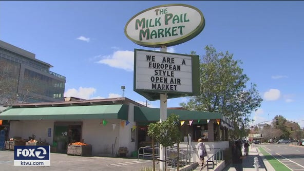 Amid strong community support, Milk Pail Market in Mountain View reopens