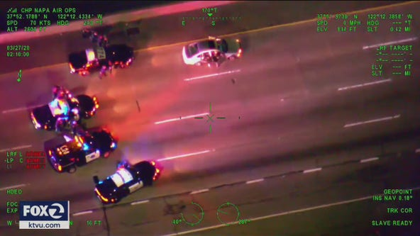 Flurry of police chases despite shelter-in-place