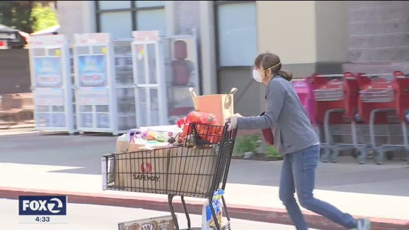 On the front lines of the COVID-19 the pandemic, Bay Area grocery store workers worried about safety