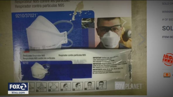Masks auctioned off for $25,000+ during coronavirus pandemic