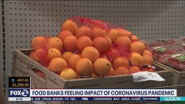 Food banks need cash to help those who need meals during coronavirus outbreak