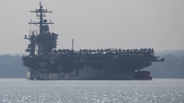 US Navy relieves aircraft carrier captain of duty for sounding alarm over COVID-19 spread on ship