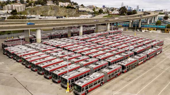 SFMTA announces major cuts to bus service starting Monday