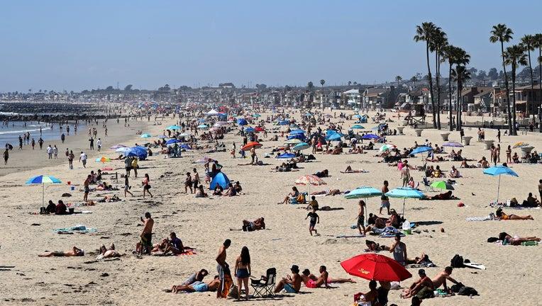 3a1d3285-Orange County Beaches In Southern California Remain Open During Coronavirus Lockdown