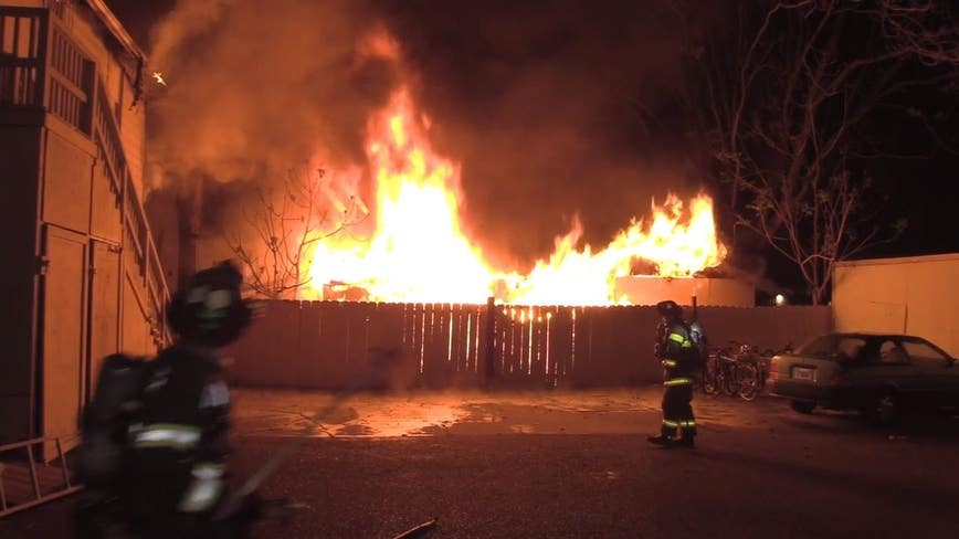 RV likely cause of San Jose fire that displaced 16: officials