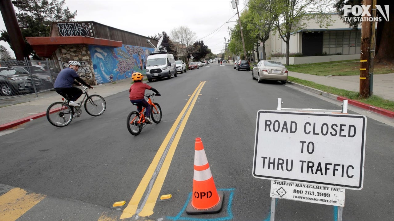 Final segment of Slow Streets program installed in Oakland