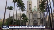 White House announces ban on travel to U.S. from Brazil
