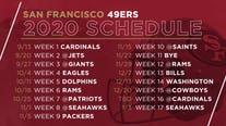 San Francisco 49ers release 2020 regular season schedule
