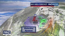 WEATHER FORECAST: Mid 60s to upper 70s around the Bay Area Sunday