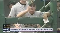 Art Howe, former Oakland Athletics manager, in ICU