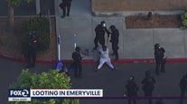 Looters cause damage in Emeryville