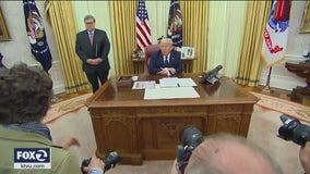 Trump signs executive order aimed at curbing protections for social media giants